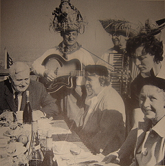 ""\""""At Paul Masson Vineyards luncheon, strolling troubadors perform the traditional affinity of troubadors with wine.""""""240|241|?|en|2|0823f3c82d411d75a1736e19d2612397|False|UNLIKELY|0.2857986092567444